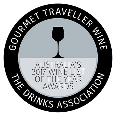 Australia's Wine List of the Year Awards