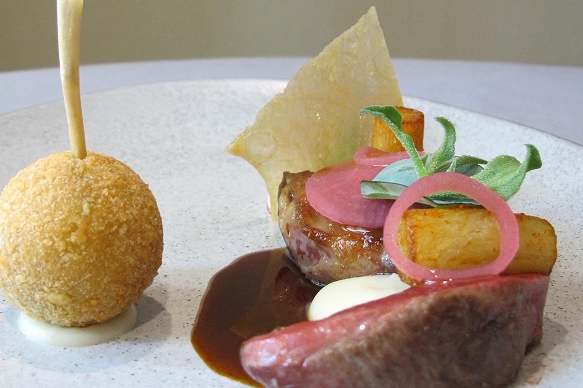 Dish by Chef Paul Longworth
